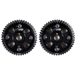 Golden Eagle Billet Adjustable Cam Gears Set for 1992-2005 Toyota/Lexus 2JZ-GTE/GE, Black
