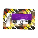 Golden Eagle Billet Vacuum Manifold Pressure Block - Purple