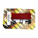 Golden Eagle Billet Vacuum Manifold Pressure Block - Red