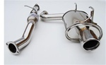 Invidia Q300 Catback Exhaust 00-09 Honda S2000, Single Stainless Tip