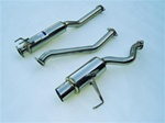 Invidia N1 Catback Exhaust 02-05 Honda Civic Si, Stainless Tip