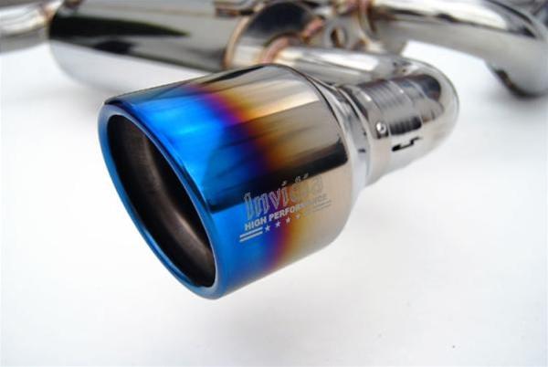 Invidia Gemini Catback Exhaust 08-13 Infiniti G37 Coupe, Dual Rolled  Titanium Tips