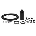 Mishimoto Baffled Oil Catch Can Kit, Black