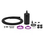 Mishimoto Baffled Oil Catch Can Kit, Purple