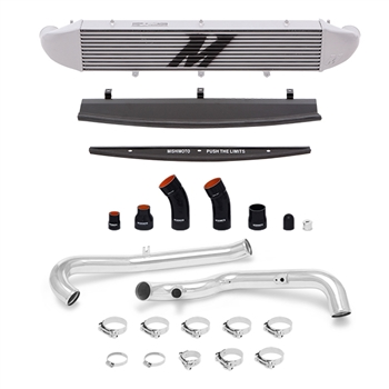 Mishimoto Front Mount Intercooler Kit for 2014-2016 Ford Fiesta ST, Polished Piping/Silver IC
