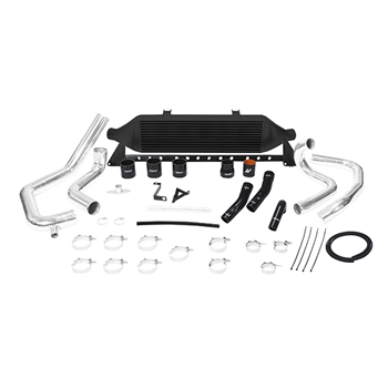 Mishimoto Front Mount Intercooler Kit for 2008-2014 Subaru Impreza STI, Black