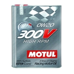 MOTUL 300V 0W20 HIGH RPM, 2L (2.1 qt.)
