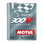 MOTUL 300V 15W50 COMPETITION, 2L (2.1 qt.)