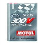 MOTUL 300V 5W30 POWER RACING, 2L (2.1 qt.)