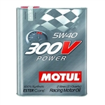 MOTUL 300V 5W40 POWER, 2L (2.1 qt.)