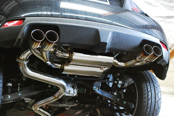 Mxp Performance T304 Stainless Catback Exhaust 20082012 Subaru Impreza Sti Hatchback: 2008 Subaru Impreza Exhaust System At Woreks.co