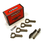Manley Pro Series I-Beam Turbo Tuff Connecting Rods w/ ARP Custom AGE 625+ Rod Bolts for Toyota 2JZ, 2JZGE, 2JZGTE