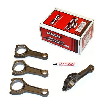 Manley Pro Series I-Beam Turbo Tuff Connecting Rods Subaru FA20, Toyota 4U-GSE
