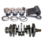 Manley 4.45L Stroker Kit for 2009-2017 Nissan GT-R R35 VR38DETT, 98.00mm, 9.1:1 CR w/ 4340 Rods/Standard Pistons
