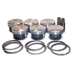 Manley Platinum Series Forged Pistons w/ 9310 wrist pins for Toyota 2JZ-GTE 86.50mm, 9.0:1 CR