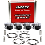 Manley Platinum Series Forged Pistons for Subaru EJ255/EJ257 99.50mm, 8.5:1 CR