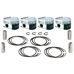 Manley Platinum Series Forged Pistons for Subaru EJ205/EJ207 WRX w/ 79mm Crankshaft 92.5mm, 8.5:1 CR