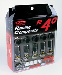 Project Kics R40 Racing Composite Lug Nuts - 12x1.25mm (20 piece Lug Nut Set)