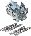 Cosworth CNC Ported Big Valve Cylinder Heads with KK3766 Camshafts for 2004-2006 Subaru Impreza WRX, STi EJ25 (2.5L) - [USDM]