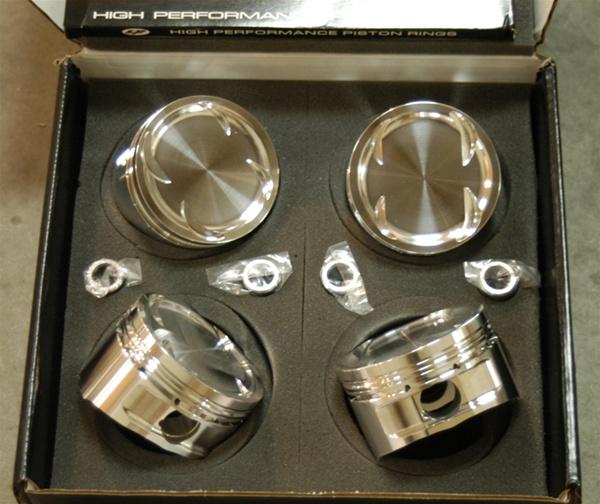 CP Forged Pistons for Nissan KA24E/KA24DE 89 50mm, 8 0/9 0:1 CR