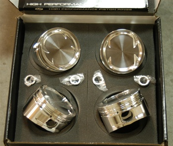 CP Forged Pistons for Nissan SR20DE/DET 86.00mm, 8.5:1 CR