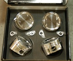 CP Forged Pistons for Ford Duratec 2.3L Non-VVT 88.00mm, 8.5:1 CR