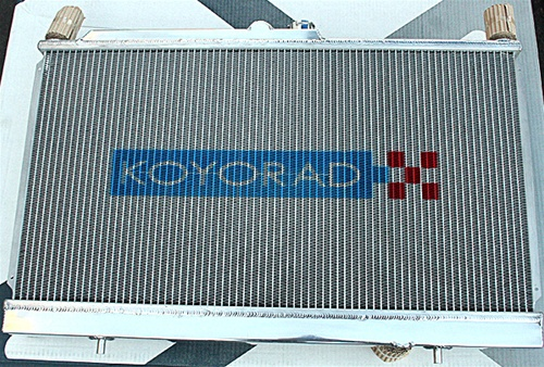 KOYORAD (KOYO) 53mm All Aluminum Radiator 1992 2000 Honda Civic / Del Sol  W/ B Series Motor