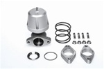 Synapse Engineering Synchronic 40mm Wastegate Kit w/ Flanges - Silver