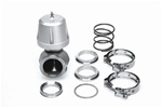 Synapse Engineering Synchronic 50mm Wastegate Kit w/ Flanges - Silver