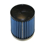 "Injen/AMSOIL Ea Nanofiber Dry Air Filter - 2.75"" Flange Diameter  5.00"" Base / 5.00"" Tall / 4.00"" Top - 40 pleat"
