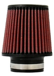 "Injen High Performance Air Filter - 2.75"" Black Filter 5"" Base / 5"" Tall / 4"" Top - 40 Pleat"