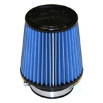 "Injen/AMSOIL Ea Nanofiber Dry Air Filter - 3.00"" Flange Diameter  5.00"" Base / 5.00"" Tall / 4.00"" Top - 40 pleat"