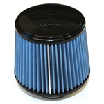 "Injen/AMSOIL Ea Nanofiber Dry Air Filter - 2.75"" Flange Diameter  6.00"" Base / 5.00"" Tall / 5.00"" Top - 54 pleat"