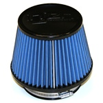 "Injen/AMSOIL Ea Nanofiber Dry Air Filter - 4.50"" Flange Diameter  6.75"" Base / 5.00"" Tall / 5.00"" Top - 54 pleat"