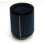 "Injen/AMSOIL Ea Nanofiber Dry Air Filter - 3.50"" Flange Diameter  6.00"" Base / 6.88"" Tall / 5.50"" Top - 54 pleat"