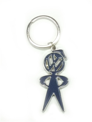 KEYRING, MR BUBBLE HEAD, GENUINE VW 809-041-110