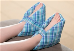 Foot Pillows/Heel Protectors Plaid