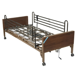 Delta Ultra Light Semi Electric Bed with Full Rails