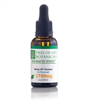 Tree of Life 1700 mg Hemp CBD Oil