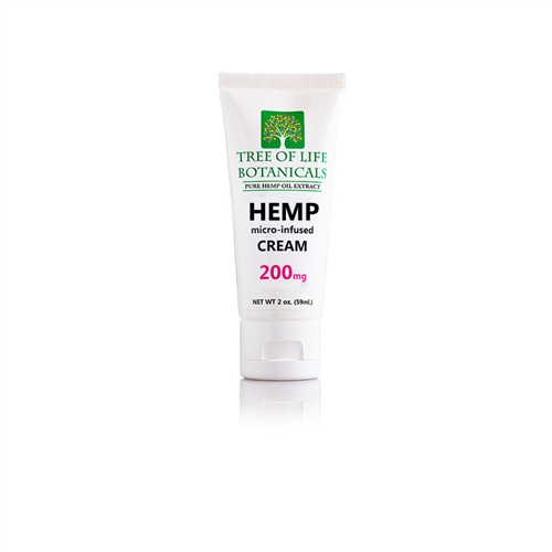 Tree of Life 200 mg Hemp CBD Oil Lotion