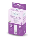 Women's Reusable Incontinence White Panty 3 Pack