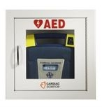 Southeastern Medical Supply Cardiac Science AED Wall Cabinet - Fully Recessed w/Audbile Alarm