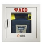 Cardiac Science AED Wall Cabinet - Fully Recessed w/Audbile Alarm; MUST CALL TO ORDER