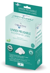 Unisex Reusable Incontinence Liners Pack of 3