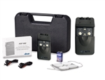 Portable Digital Dual Channel 3 Mode TENS Unit with Carrying Case and Electrodes