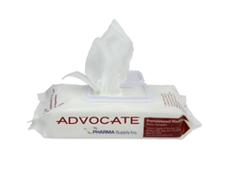 Advocate Pre-Moistened Washcloths (Disposable)- case quantity