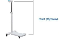 Bistos Blue LED Phototherapy Cart