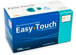 EasyTouch Insulin 32 Gauge Pen Needle