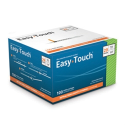 EasyTouch 29 Gauge Retractible Safety Syringe