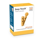 EasyTouch Twist Top Lancets 33 Gauge